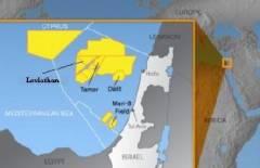 Mappa dei giacimenti di gas e petrolio tra Israele e Libano.jpg