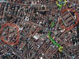 1° maggio 2015 cartina degli scontri