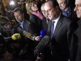 Hollande dopo l'attentato a Parigi del 13 novembre 2015