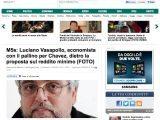 M5s- Luciano Vasapollo, economista con il pallino per Chavez, dietro la proposta sul reddito minimo_Haffington Post