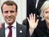 Macron Emmanuel e Marine Le Pen