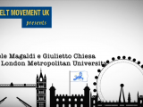 Magaldi Gioele incontra Giulietto Chiesa alla London Metropolitan University