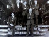 Riva Emilio con i figli Fabio, Claudio, Nicola, Daniele, Cesare e Angelo