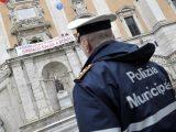 Vigili romani contestano il sindaco il 30 dic 2014