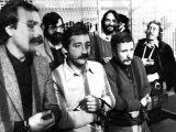 Gallinari Moretti delle BR arrestati 15 aprile 1982 (Ap)
