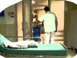 Sanità - ospedale fumettato