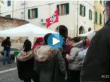 Casapound in silenzio ad ascoltare 'Bella Ciao' Sindaca di Cascina concede il banchetto 2017-12-21