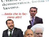 Salvini-Savona-Di-Maio-Mattarella-e-commento-art-1-Costituzione-
