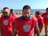 Casapound-con-pettorina-sulle-spiagge-di-Ostia