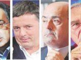 Marchionne-Renzi-Zingaretti-Grasso