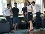 Eadeh Julie capo divisione affari politici consolato generale Usa insieme a capi sovversione di Hong Kong